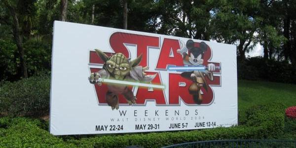 ...due to something called Star Wars Weekends.