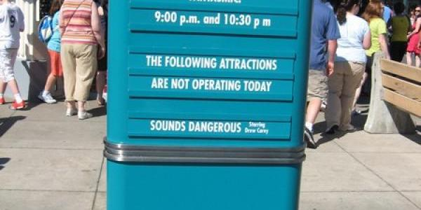 Park hours and closures