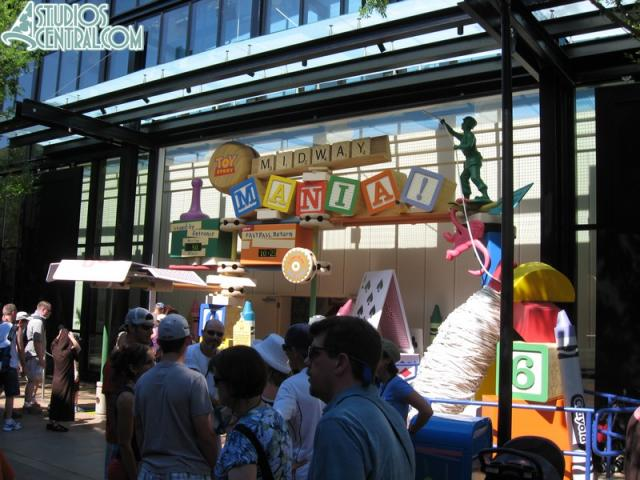 Toy Story Midway Mania officially opened one year ago today (5/31)