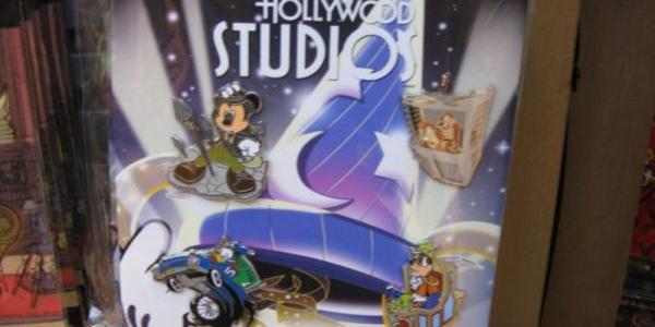 A new Hollywood Studios pin set for sale