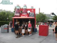 The coke bottle stand is back