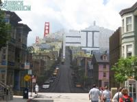 Most of the San Francisco backdrop is back at Streets of America
