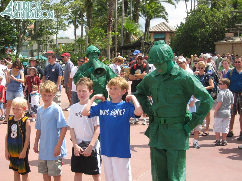 Green Army Men skit