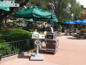 Temporary DVC booth
