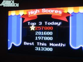 ..top score for the day too!