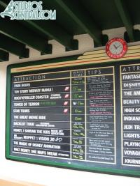Wait times at 11:10am