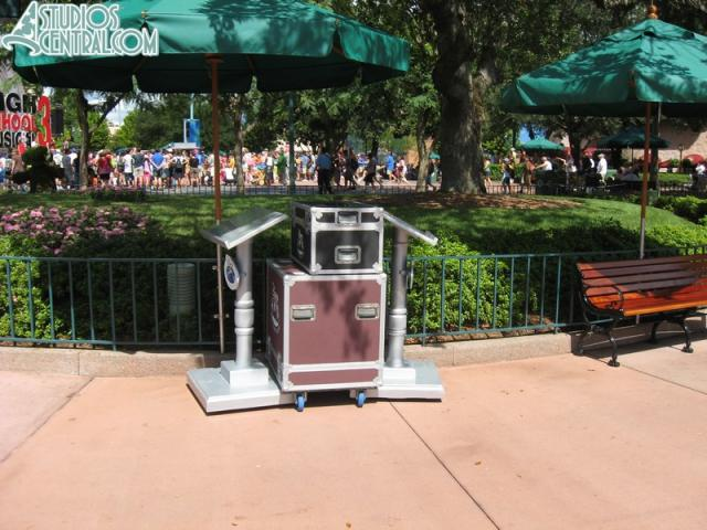 Temporary DVC booth not in use