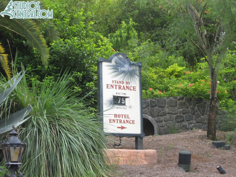 A long wait at Tower of Terror