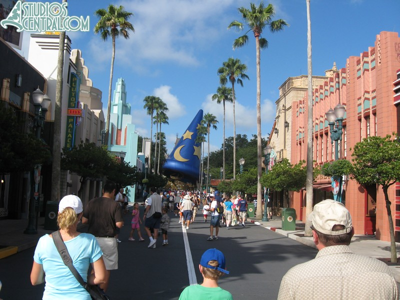A beautiful day on Hollywood Boulevard