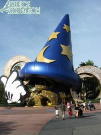 Early morning with the Sorcerer's Hat