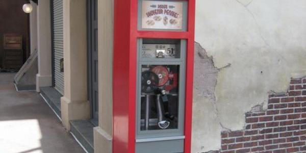 Another new pressed penny machine near the Cars meet-n-greet