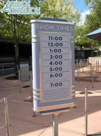 American Idol Experience Show Times