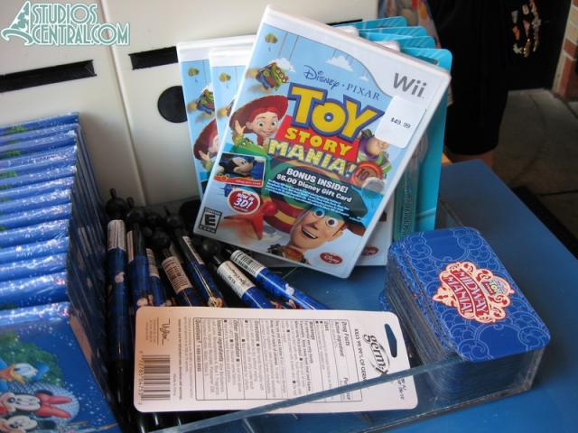 Toy Story Mania game for Wii on sale