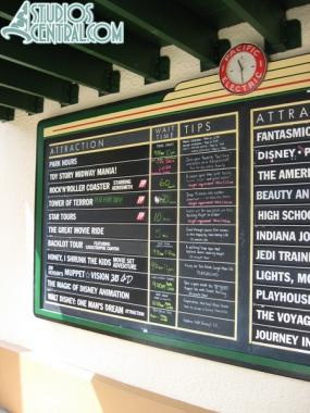 Wait times at 11:30am