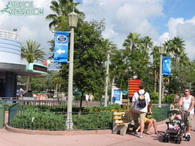 American Idol Experience audition banners