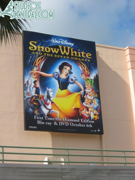 New Snow White billboard in the Animation Courtyard