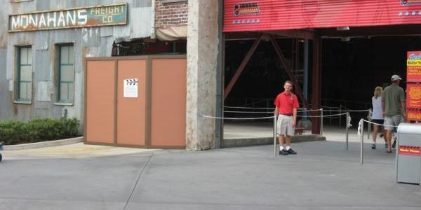 Still missing the tram from Backlot Tour entrance
