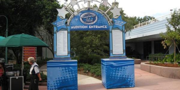 American Idol Experience audition entrance