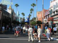 Hollywood Boulevard in the morning
