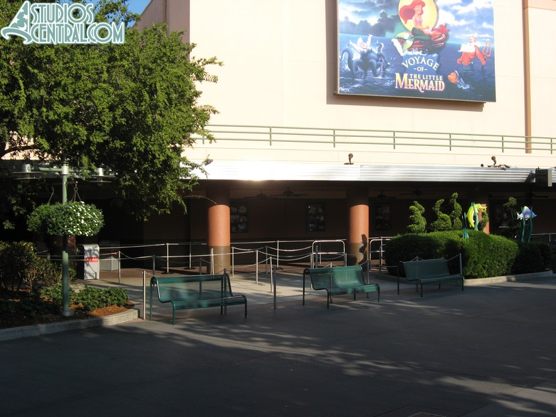 Fastpass closed off at Voyage of the Little Mermaid