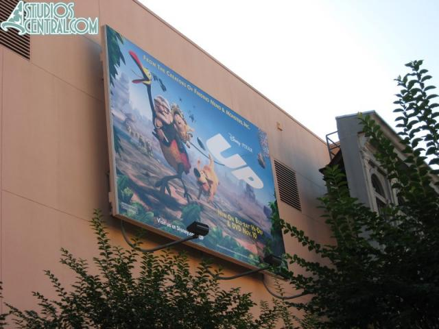 New billboard for Up on DVD
