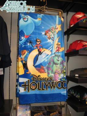 Hollywood Studios towel