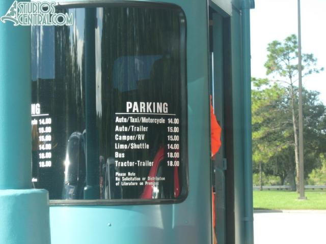 New parking prices