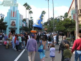 A cooler day at Hollywood Studios