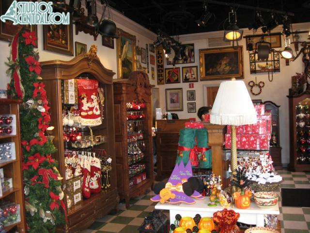 A look inside the Christmas shop