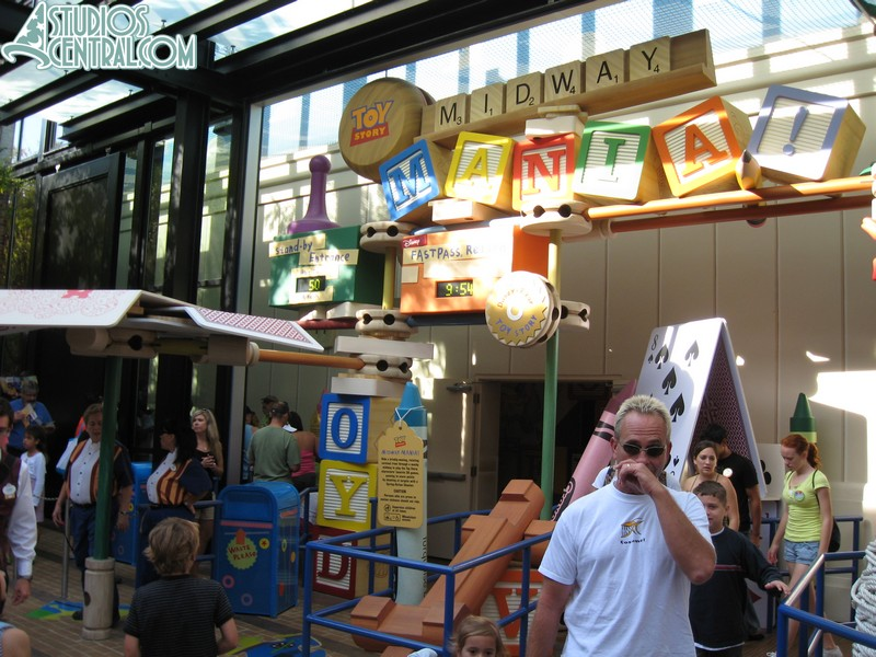 Wait times at Toy Story Midway Mania