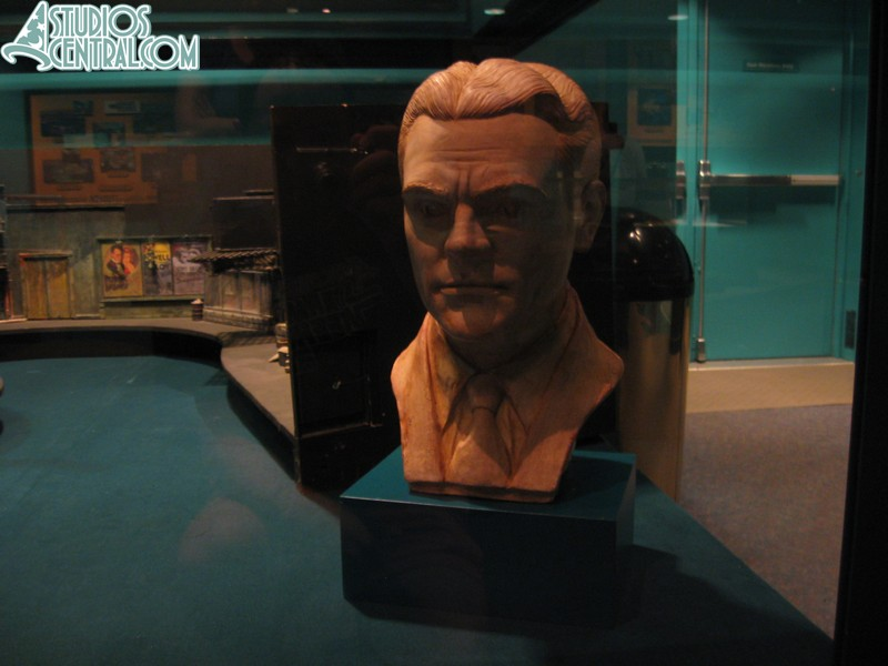 James Cagney bust
