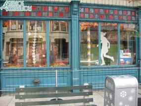 New fall window display on Streets of America