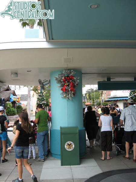 Turnstile decorations