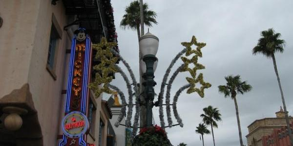 Hollywood Boulevard decorations