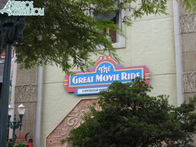 Great Movie Ride sign still missing