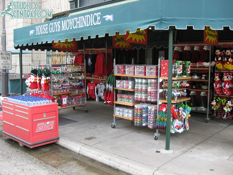 Holiday merchandise for sale