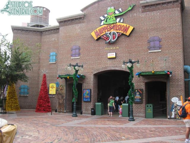Decorations around Muppetvision