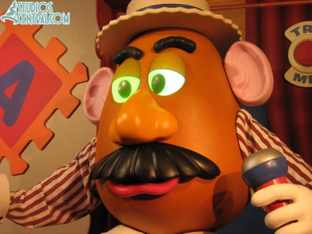 Mr Potato Head must have had a late night...
