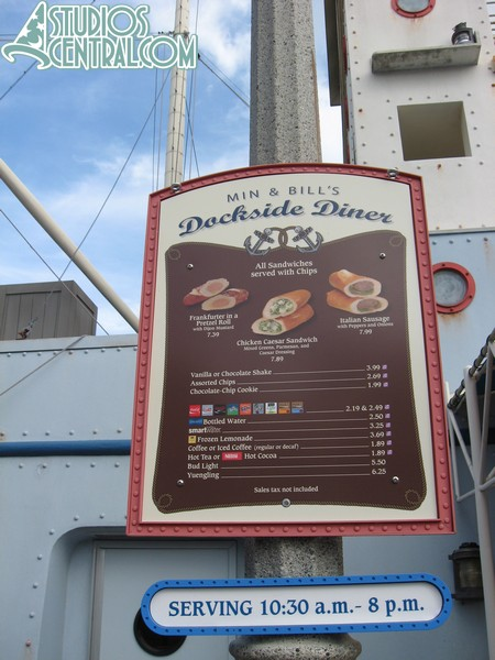 New menu at Min and Bill's Dockside Diner that was changed this week