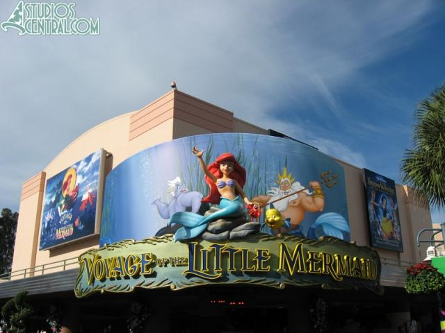 New marquee for Voyage fo the Little Mermaid