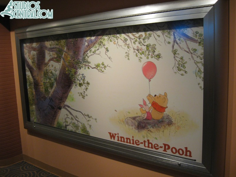 Winnie the Pooh poster in Magic of Disney Animation