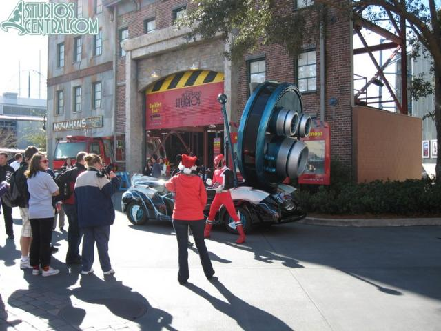 to near the Backlot Tour