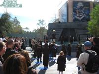 Jedi Training Academy is dual tiered due to crowds