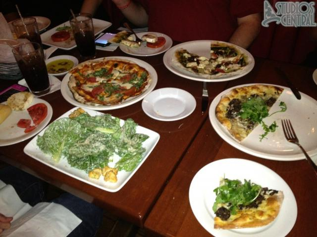 Our choice of flatbreads