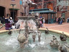 MuppetVision Fountain