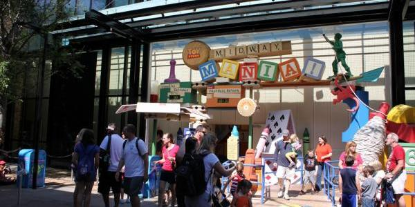 Toy Story Midway Mania entrance