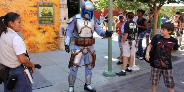 Jango Fett meeting guests