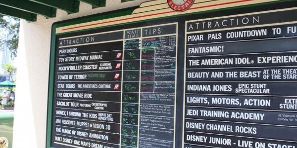 Wait times at around 11:30am