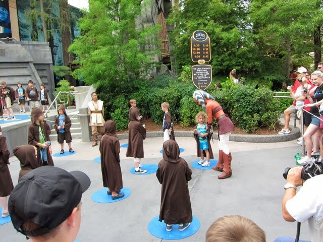 Kids at Jedi Training Academy