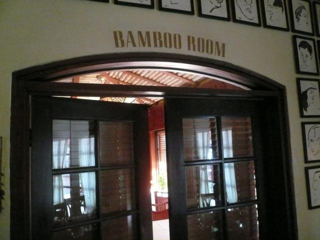 Hollywood Brown Derby Bamboo Room